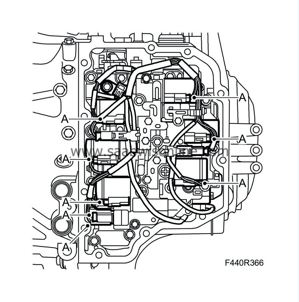 3. Unplug the engine speed sensors' connectors.