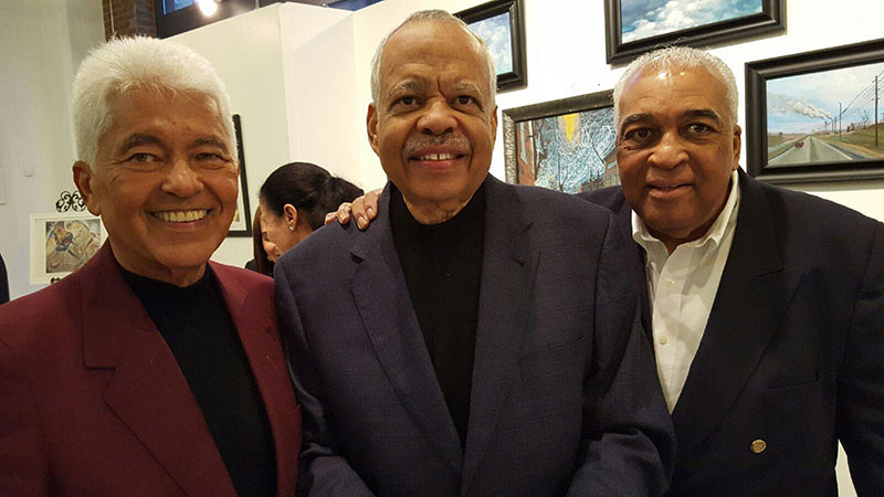 left to right: Byron Glore, Wayman Smith, Victor Julian