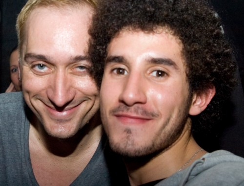 With Paul van Dyk