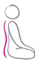 yoga straightens spine