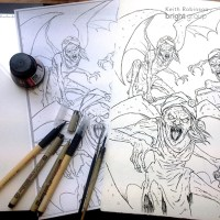 Behind the Book: The Percy Jackson Coloring Book by Keith ...