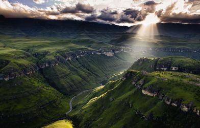 Hiking At The Drakensberg