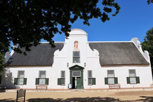 Old architecture at Groot Constantia