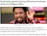 04: TB Joshua, his friendship with the leadership and more...