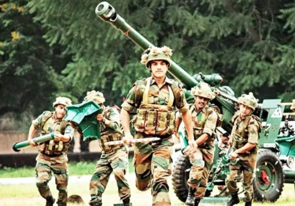 Indian Army numerous vacancies