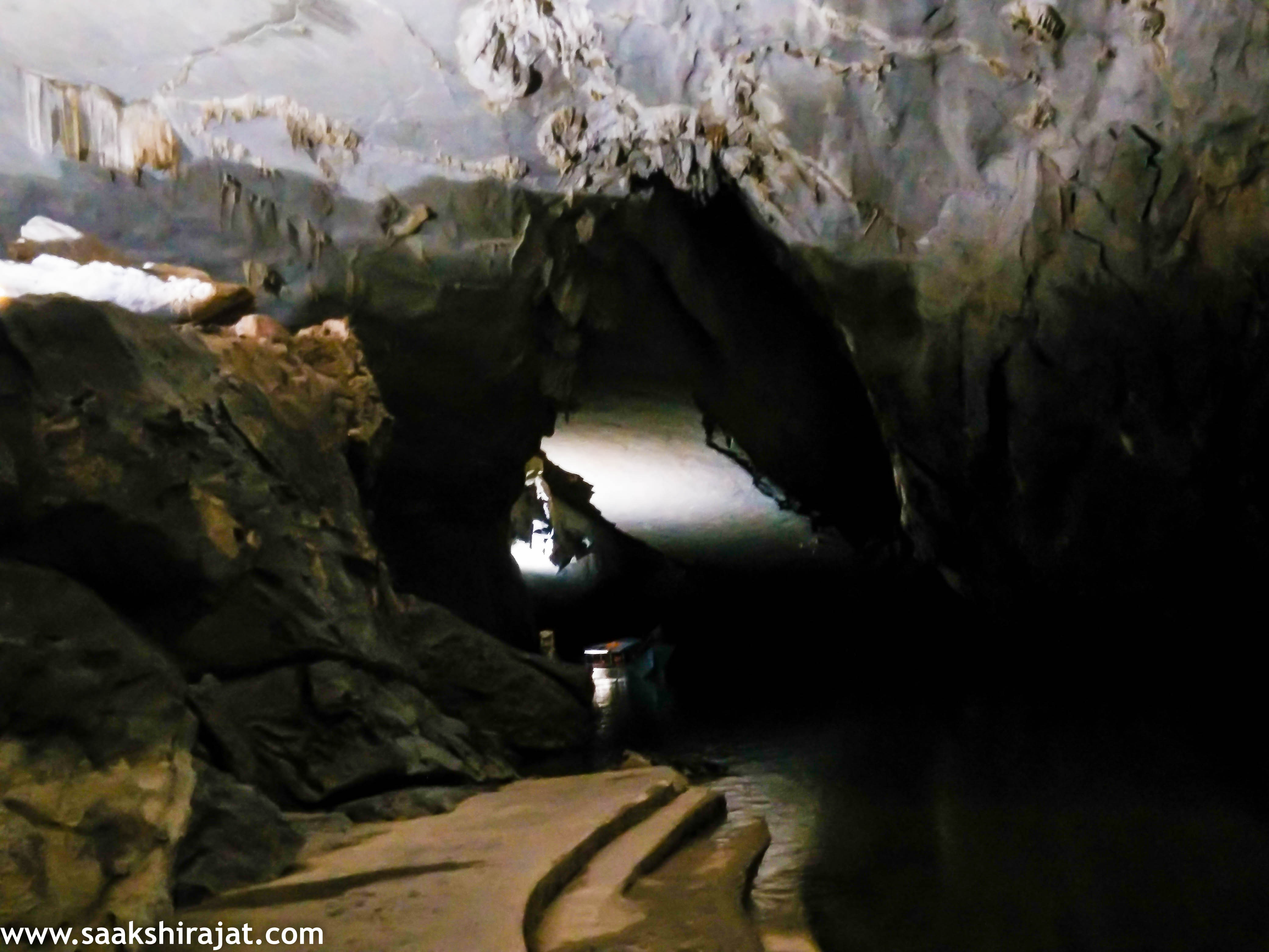 Cave inside cave