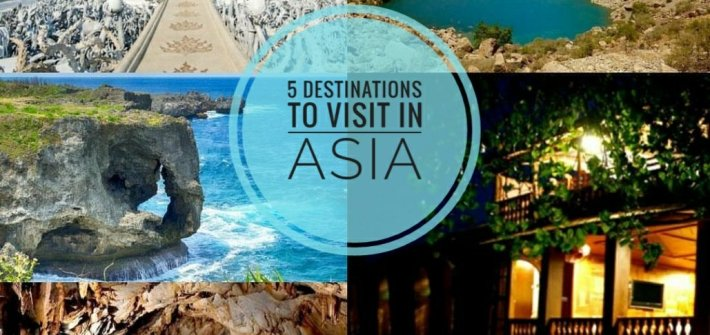 destinations to visit in Asia