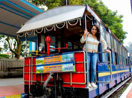 Toy train ride Coonoor