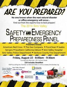 Emergency Prep Panel
