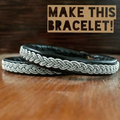 Make a Saami bracelet