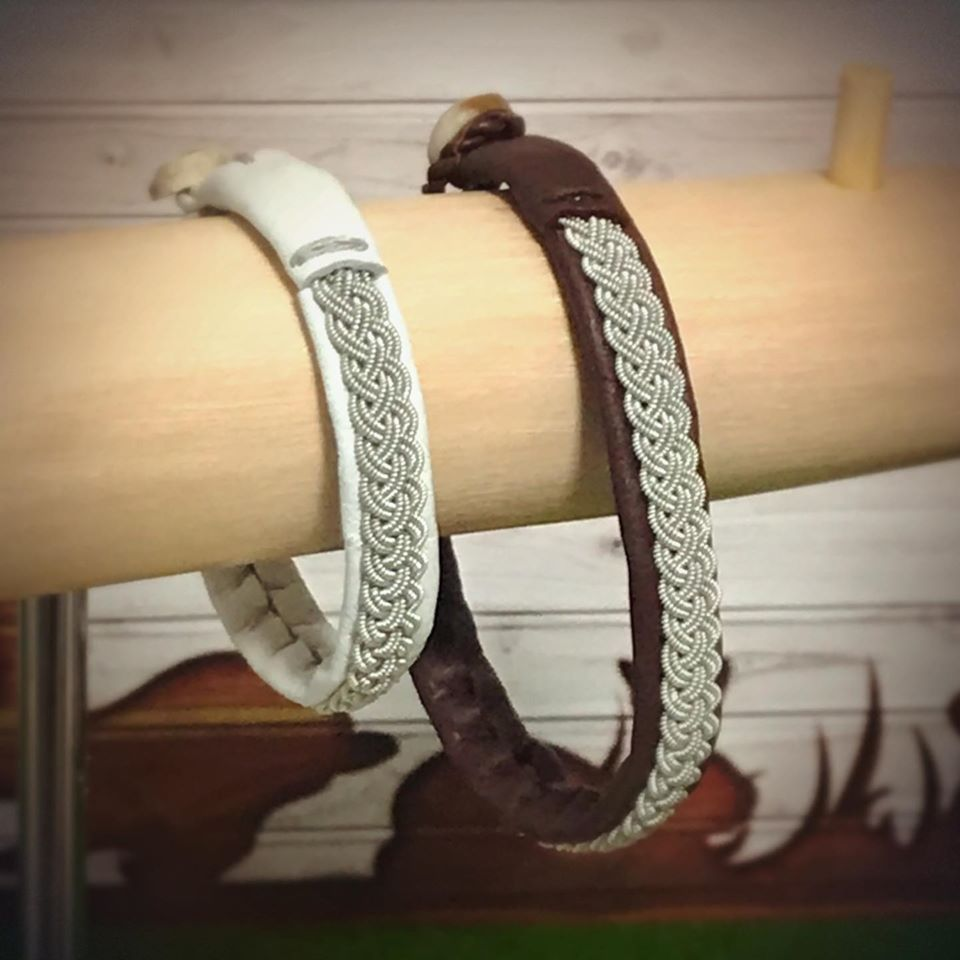Saami Inspired Bracelets created by Emi Sawaishi from Japan