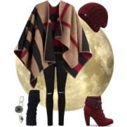 maroon in winter moon