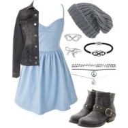 skater blue and gray