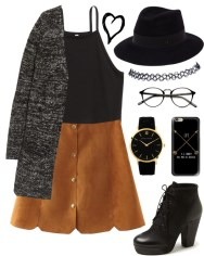 suede hipster
