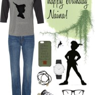 peter pan tee and converse - naina