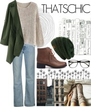 holiday style: cozy chic - artist vibe