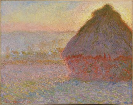 Grainstack Sunset (1891)