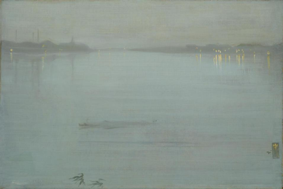Nocturne: Blue and Silver Cremorne Lights (1872 - 1878)