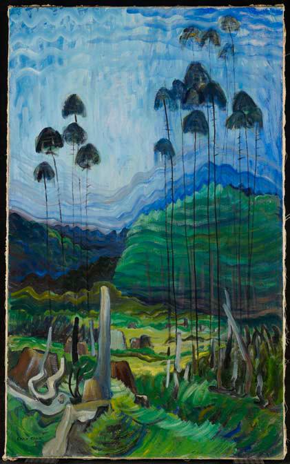 Trees in Sky (1939)