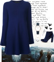 sweater dress for the holidays