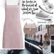 pink pinafore reads