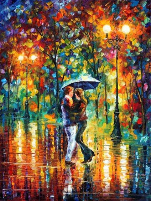 dance under the rain