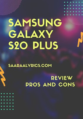 Samsung Galaxy S20 plus review