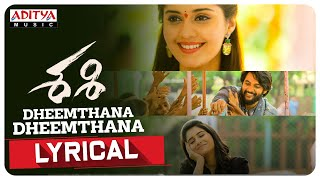 dheemthana dheemthana song lyrics sashi