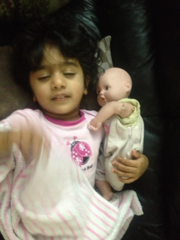 anvi with dolly