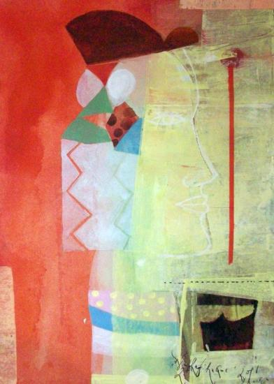 painting: Rafi Haque