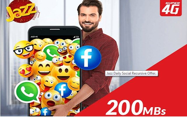 Mobilink Jazz Introduced New Offer - Jazz Daily Recursive Offer
