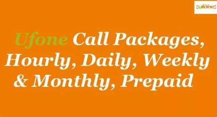 Latest Ufone Prepaid Packages 2019 - Call, SMS and Internet Packages