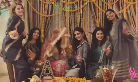 Maya Ali Latest Pictures on Her Cousin Mayun
