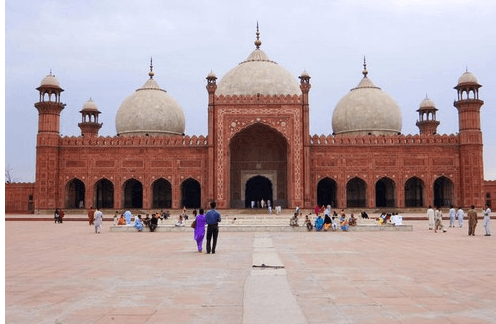 Badshahi Masjad in Lahore