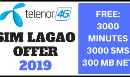 Telenor Sim Lagao Offer 2019, Sim Lagao Offer, Telenor Sim Lagao offer, Sim lagao offer 2019, Latest Sim Lagao Offer april , May 2019,