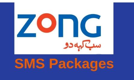 Zong SMS Packages: Daily, Weekly and Monthly & More in 2019