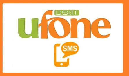 Ufone SMS Packages - Ufone Daily, Weekly and Monthly SMS Bundles
