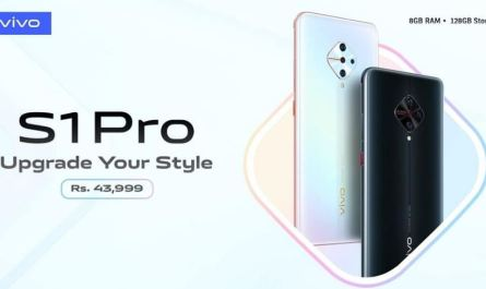 Vivo S1 Pro Now Available in Pakistan in All Mobile Markets
