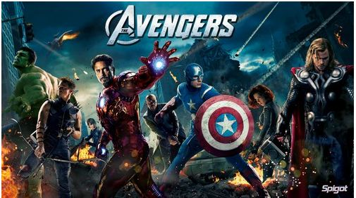 Marvel's The Avengers (2012) - Top 10 Hollywood Movies