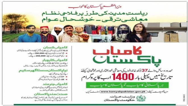 Kamyab Pakistan Program 2021 Online Registration Online Application