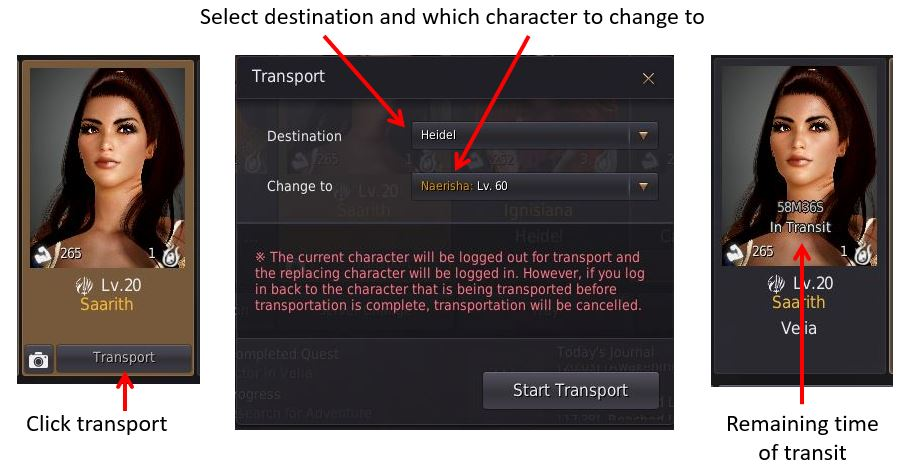BDO Transport System Explained [2019] - Saarith com