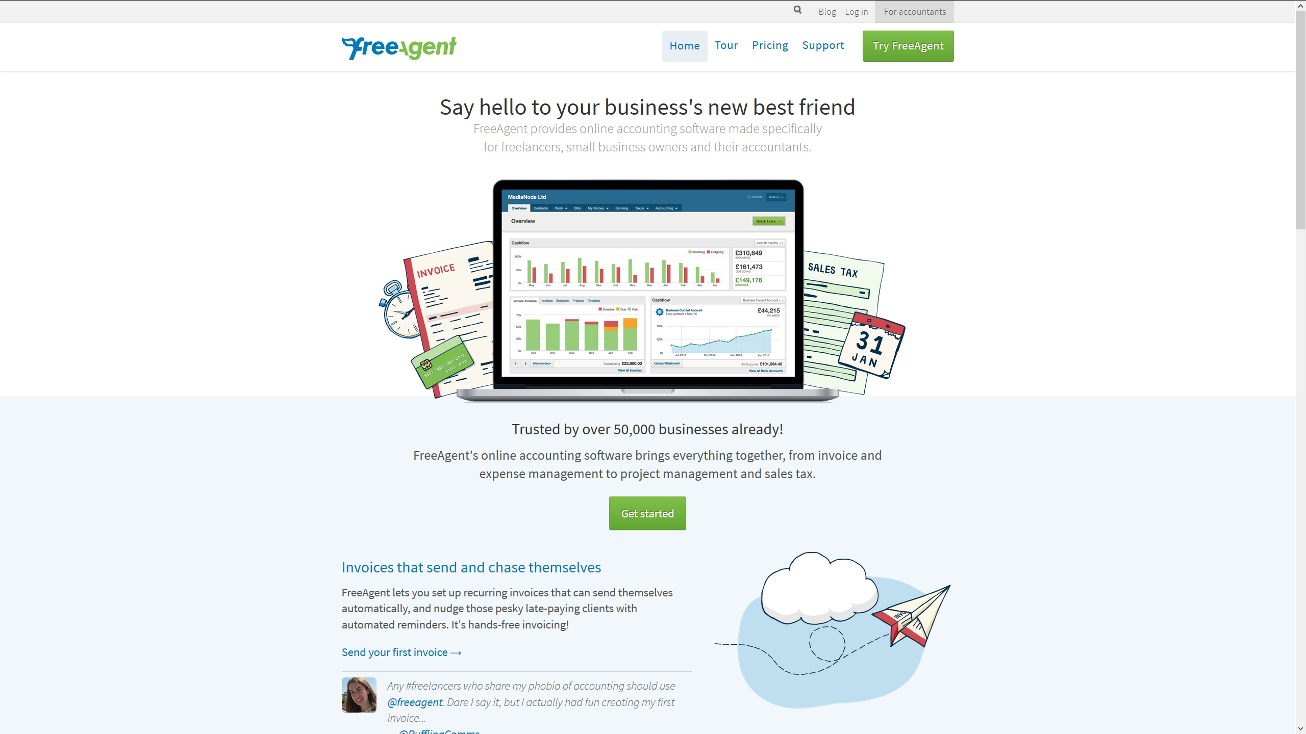 best free accounting software for small business 2016