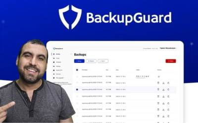 BackupGuard WordPress plugin for Backup and Security
