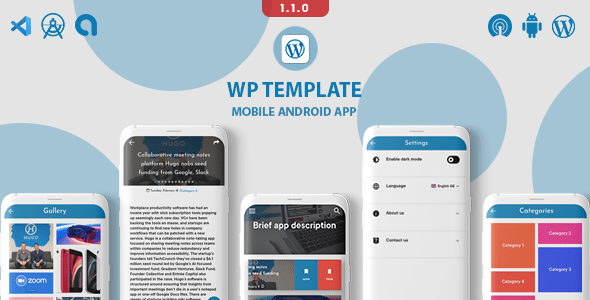 WPnews WordPress to app (android)