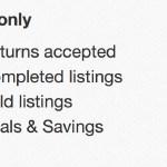 eBayの新絞り込みフィルター Deals & Savingとは!?
