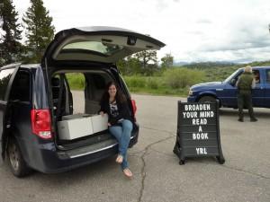 Bookmobile Day.