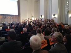 Slavnostní večer v sálu sněmovny v Mnichově