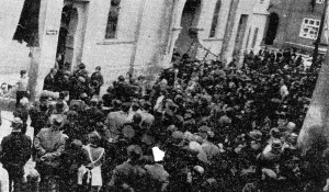 Progrom in Saaz am 9. November 1938
