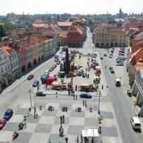 náměstí Svobody, pohled z radniční věže