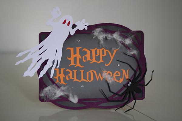 Une plaque de porte pour Halloween